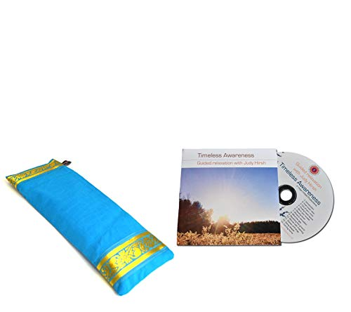 Yoga Malai Rilassamento Confezione Regalo–Cielo Blu Eyepillow & rilassamento CD