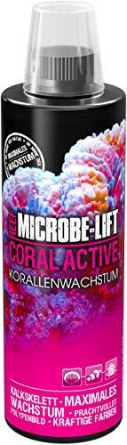 MICROBE-LIFT Coral Active Booste la Croissance des Coraux/L'Éclat de Leurs Couleurs/pour Tous Les Aquariums d'eau de Mer 473 ML