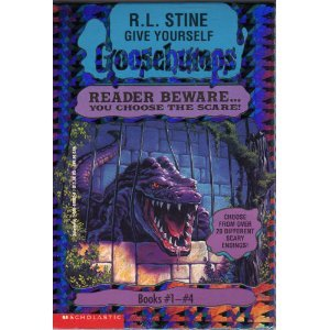Give Yourself Goosebumps Boxed Set, Books 1 - 4: Escape from the Carnival of Horrors; Tick Tock, You're Dead!; Trapped in Bat Wing Hall; and The Deadly Experiments of Dr. Eeek
