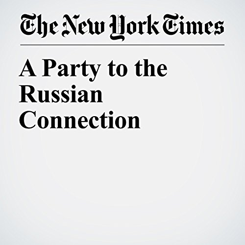 A Party to the Russian Connection copertina