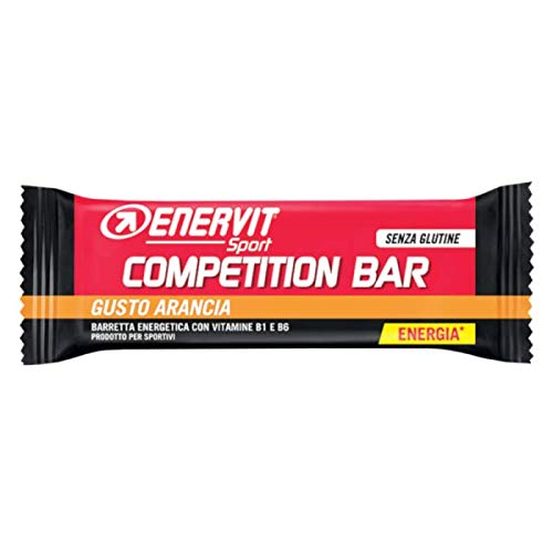 Enervit Power Sport Competition Pack de 25 Barrette Taste Naranja