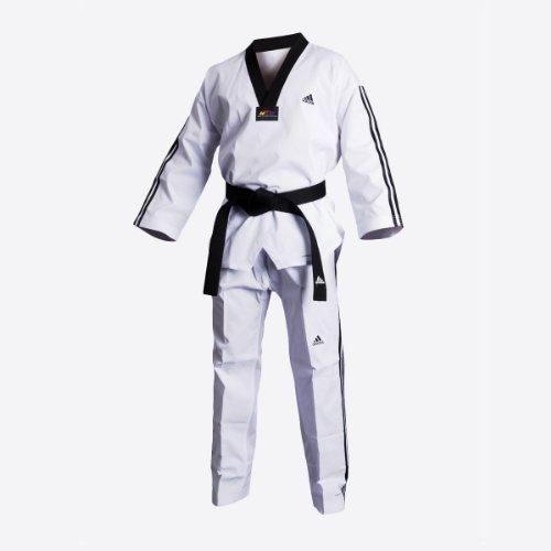 Adidas ADIFLEX Taekwondo Dobok - 7/210 cm - W/B