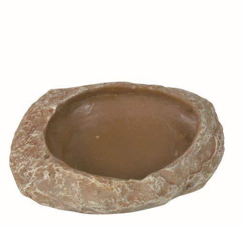 Trixie 76180 Wasser- und Futterschale für Reptilien, 6 × 1,5 × 4,5 cm