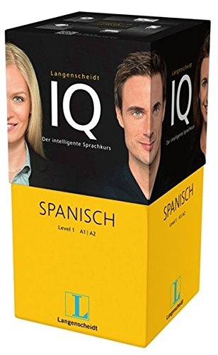 Langenscheidt IQ Spanisch - Der intelligente Sprachkurs - Package aus 2 Büchern mit MP3-CDs, Audio-Kurs auf MP3-CD, Software-Training auf USB-Stick ... Classroom, Online-Lern-Manager, Headset