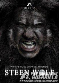Pro Wrestling Guerrilla - Steen Wolf DVD