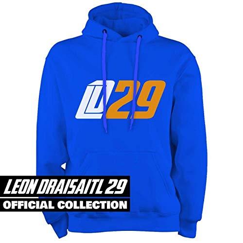 Scallywag® Eishockey Hoodie Leon Draisaitl Oilersnation I Größen S - XXL I A BRAYCE® Collaboration (Kapuzenpullover aus der Offiziellen LD29 Kolllektion) (XL)