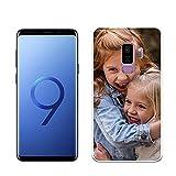 Mookase Funda de Gel para Samsung Galaxy s9 Plus Personalizada para tu móvil con Foto Imagen o Texto, Carcasa...
