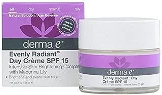 Derma E Evenly Radiant Day Cream Spf15 1x 2 Oz