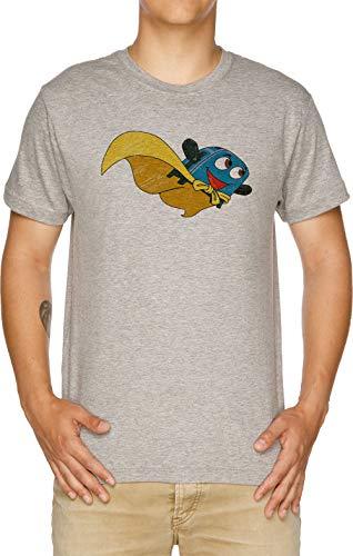 Valiente Pequeño Tostadora - Volar Lejos Camiseta Hombre Gris