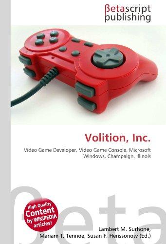 Volition, Inc.: Video Game Developer, Video Game Console, Microsoft Windows, Champaign, Illinois