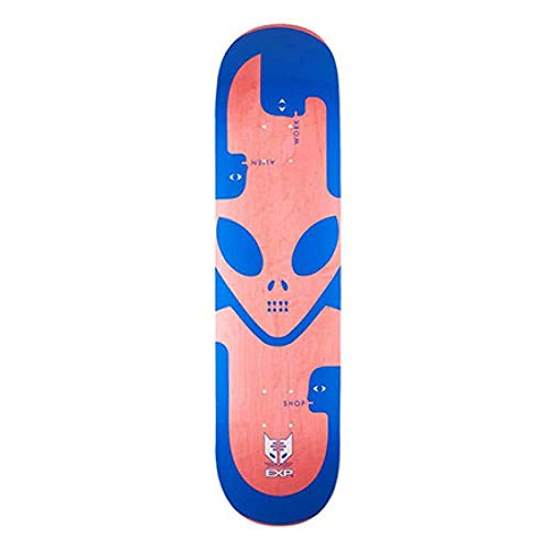 Alien Workshop Exp - Tavola da skate, 20,3 cm, colore: Blu