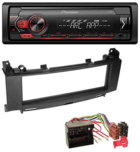 caraudio24 Pioneer MVH-S100UB USB AUX MP3 1DIN Autoradio für Mercedes A-Klasse W169 B-Klasse W245