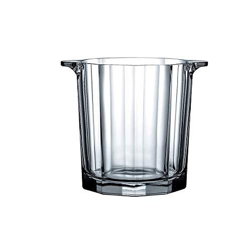Cubiteras Ice Bucket para Interior y Exterior Cubo de hielo, cristal cubo de hielo, cubo de hielo sin cubierta, Cristal de hielo cubo de vino de Champagne cubo de hielo cubo de hielo cubo de hielo bar