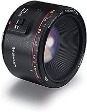 Yongnuo YN50MM F1.8 II AF/MF 0.35M Focus Distance Standard Prime Lens Black for Canon DSLR Camera