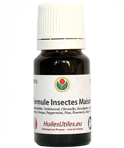 Huiles Utiles - La Formule Insectes Maison - 10 ML