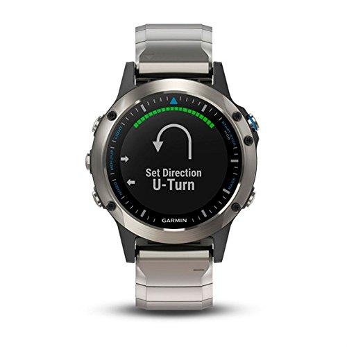 Garmin Damen-Uhren Digital One Size Edelstahl 87300315