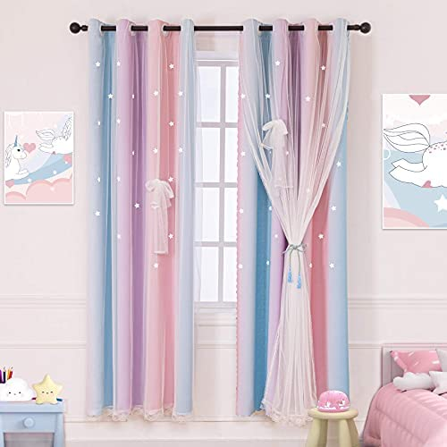 Children room curtain