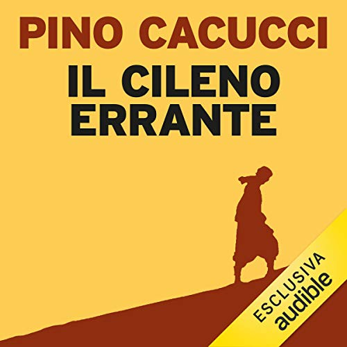 Il cileno errante audiobook cover art