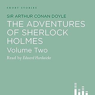 The Adventures of Sherlock Holmes audiobook cover art