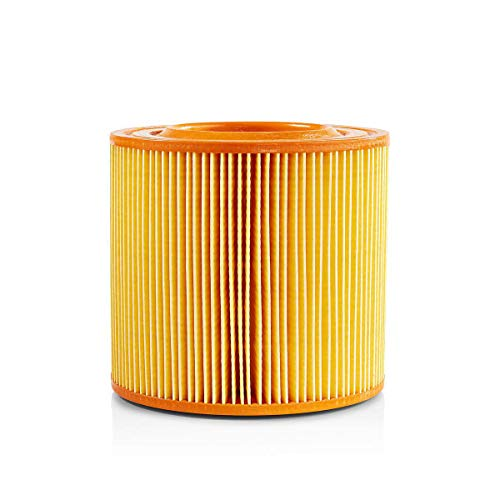 NEDIS Vacuum Cleaner Cartridge Filter Cartridge Filter Replacement for Allaway A/C Vacuum Cleaners, Yellow & Orange Yellow/Orange