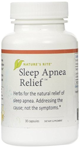 Sleep Apnea Relief Natures Rite 30 Caps (2 Pack)
