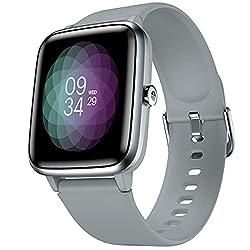 Noise Colorfit Pro 2 Full Touch Control Smart Watch (Mist Grey),Nexxbase,ColorFit Pro 2
