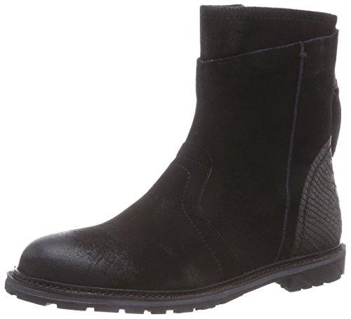 SPM Damen Seiko Ankle Boot Kurzschaft Stiefel, Schwarz (Black/Black/Black), 40 EU