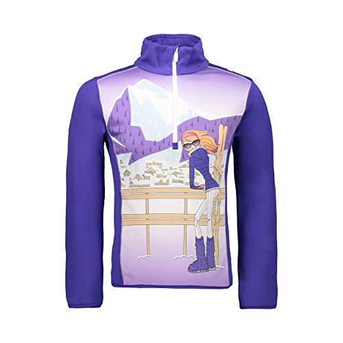 CMP Mädchen Ski Rolli 39L2535 Shirt, Lapis, 140