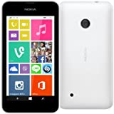 Nokia - Lumia 530 Smartphone Movistar Libre Windows Phone (Pantalla 4', cámara 5 MP, 4 GB, 1.2 GHz, 512 MB RAM), Blanco