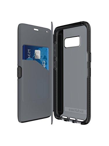 Tech21 Evo Wallet Schutzhülle für Samsung Galaxy S8 - Schwarz