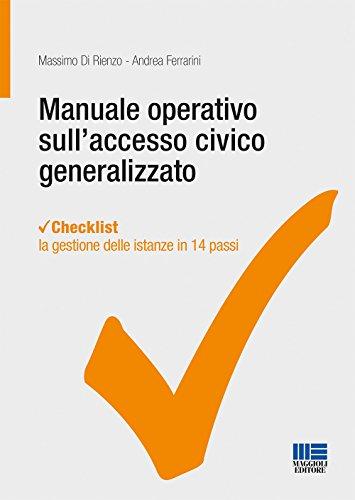 Manuale operativo sull'accesso civico generalizzato