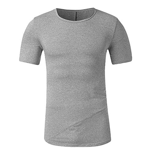 T-Shirts et Polos Homme, Grande Taille m-XXXL,Hommes Mode Impression T-Shirts Chemise à Manches Courtes T-Shirt Blouse, Confortable Douce Modal Homme T-Shirt Tops
