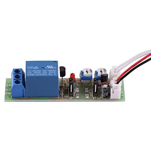 1 Stück Einstellbarer Timer-Zeitschaltuhr Ein/Aus DC 5V / 12V / 24V 0-15min / 0-60min (DC24V, 0-15min)