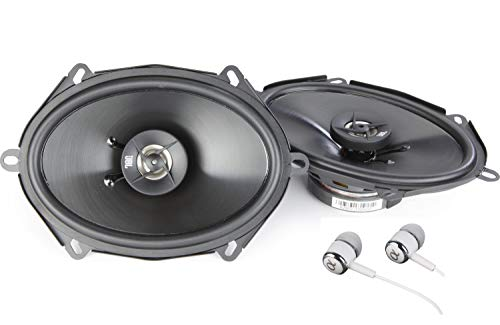 "JBL Stage 8602 360W Max (120W RMS) 6"" x 8"" 4 ohms Stage Series 2-Way Coaxial Car Audio Speakers/Free ALPHASONIK Earbuds"