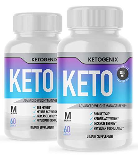 Ketogenix, BHB Ketones, 2 Bottle Package, 60 Day Supply