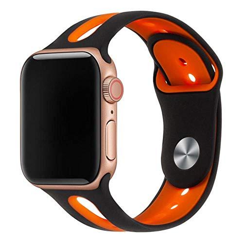 CICI Silicone Bracelet Watch Trailer di 42 Millimetri 38mm Elastici 44 Millimetri di 40mm di Apple Cinghia di Apple iWatch Cinturino Series4 / 3/1.2,13,38 Millimetri 40 Millimetri ML