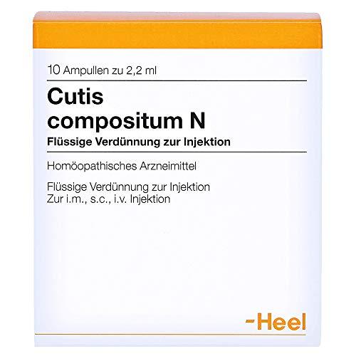 CUTIS compositum N Ampullen 10 St