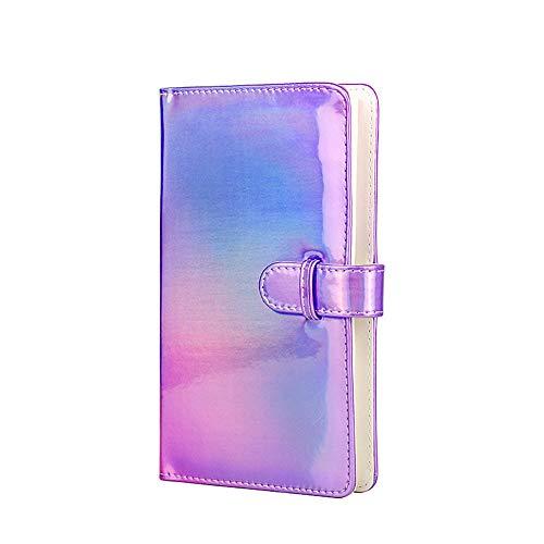 Álbum de fotos mini de 3 pulgadas, 96 bolsillos, para Fujifilm Instax Mini 11, 9, 8, 8, 25, 7s, 50, 90, Polaroid Snap/Zip/Z2300/PIC-300, HP Sprocket, Kodak Mini película de 3 pulgadas Púrpura colorido