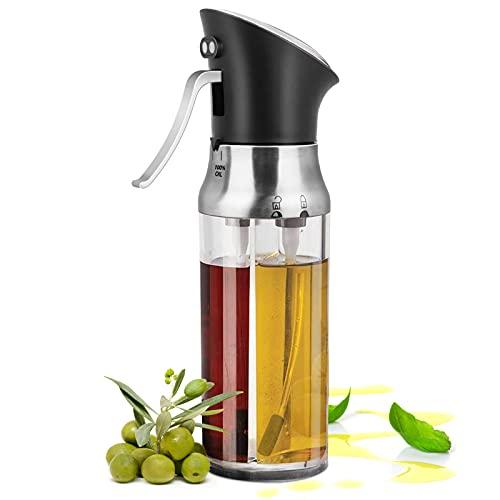 95Street Öl Sprayer,Olivenöl Sprüher, 2 in 1 Oil & Vinegar Dispenser Spray Bottle Set,Öl Sprüher zum Kochen, BBQ Kochen Sprühflasche für Küche, Kochen, BBQ,Braten,Pasta,Salat