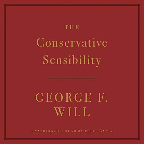 The Conservative Sensibility audiobook cover art
