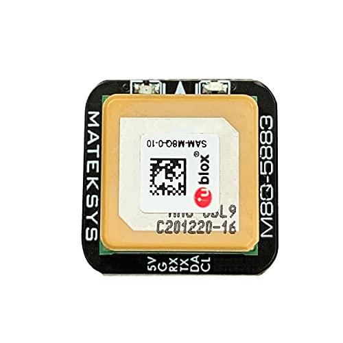 Matek M8Q-5883 GPS Compass Module, Mini FPV GPS Module, Ublox SAM-M8Q GPS QMC5883L Compass Module for RC Drone FPV Racing 4.7 Out of 5 Stars 11 …