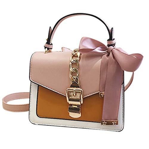 OIKAY Mode Damen Tasche Handtasche Schultertasche Umhängetasche Mode Neue Handtasche Frauen Umhängetasche Schultertasche Strand Elegant Tasche Mädchen 0321@058