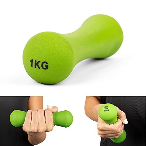 Phoenix Fitness Agarre Suave Peso. Verde Talla:1 kg