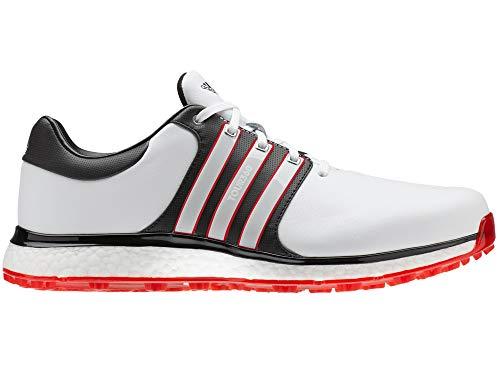 adidas Herren Tour360 Xt-sl(Wide) Golfschuhe, Weiß (Blanco/Negro/Rojo F34992), 47 1/3 EU