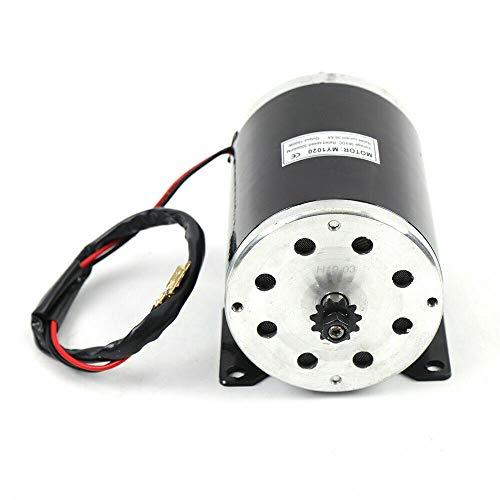 Motor eléctrico 1000 W, 36 V CC, 3000 prm, con cepillo para...