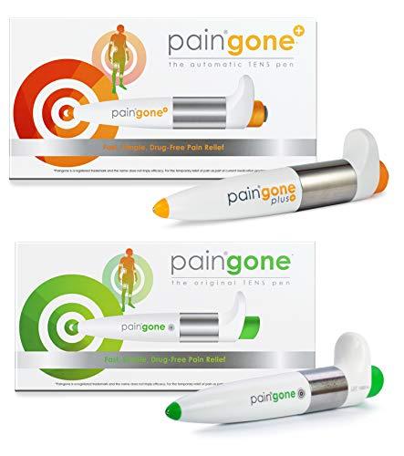 Paingone pen en Paingone pen Plus | Pijnstiller | Met de hand vastgehouden pijnstiller voor aandoeningen zoals artritis, ischias, gewrichtspijn, cervicale spondylose, rug- en schouderpijn | Drugvrij