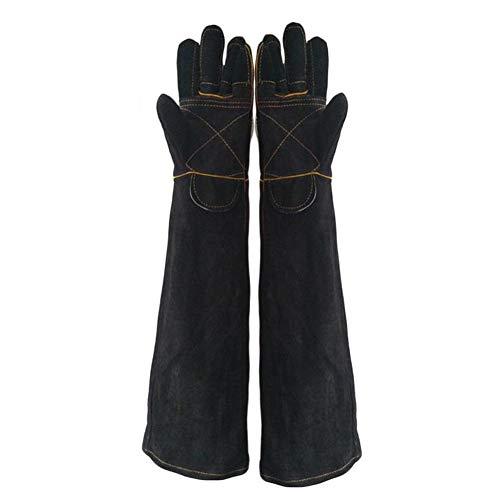 QQDD Tier Handhabung Handschuhe Anti-Biss/Scratch für Hund Katze Papagei Schlange Eidechse Reptil Wilde Tiere Bade Grooming (Size : Medium)