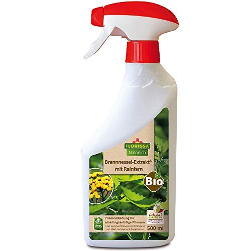 Bio Brennnessel Extrakt mit Rainfarn | zur Vorbeugung von Schädlingen (Blattläusen, Milben) bei Obst, Gemüse und Zierpflanzen | NATUR im GARTEN Gütesiegel und biologisch GÄRTNERN Gütesiegel