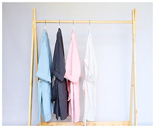 Linen BathRobe - One Size Fits All- Washed Linen - Linen Robe