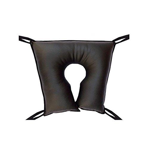 Cojín antiescaras   En forma de herradura cuadrado   Fabricado en poliuretano   Dimensiones: 46 x 46 x 10 cm   Previene las úlceras por presión